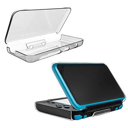 New Nintendo 2DS XL Case , EAGWELL Compatible With Nintendo 2DS XL Clear Crystal Skin Case for New Nintendo 2DS XL 2017.