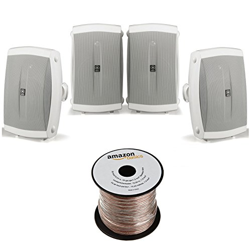 Yamaha NS AW150WH 2 Way Outdoor Speakers