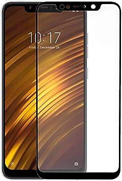 URGEMOVIL Protector Pantalla Cristal Templado Xiaomi Pocophone F1 (3D Negro): Amazon.es: Electrónica