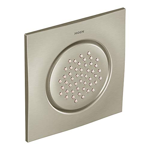 Moen TS1320BN Mosaic Square Single-Function Body Spray, Brushed Nickel
