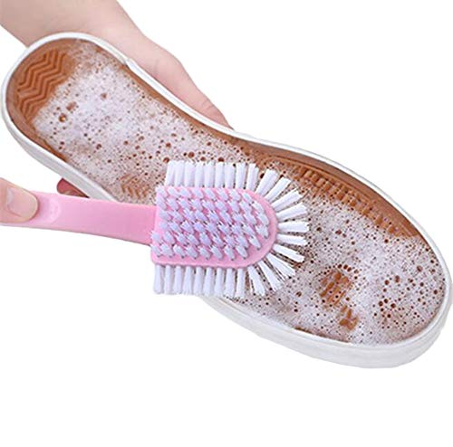 cepillo para polvo de limpieza para zapatos de 5 vías para el hogar, cepillo para polvo de plástico creativo para zapatos,...
