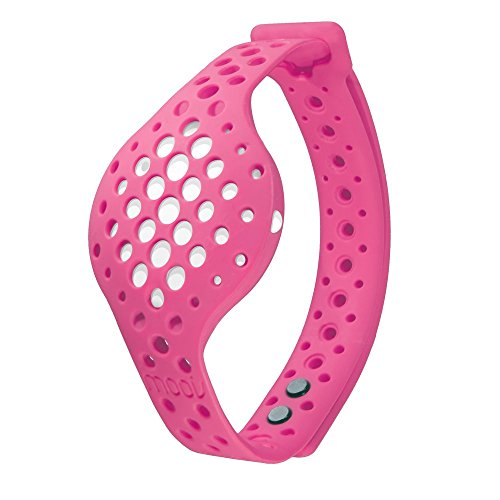 Moov Now - Special Edition - Blizzard White: Berry Pink - 3D Fitness Tracker & Real Time Audio Coach [NEW] - Run Walk Swim Cycle Workout Cardio Boxing