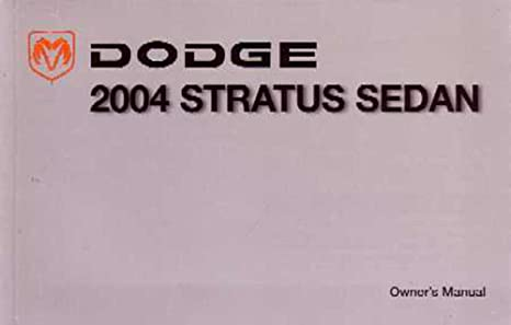 amazon com bishko automotive literature 2004 dodge stratus sedan rh amazon com 2004 Dodge Stratus Review 2004 Dodge Stratus 2 Door