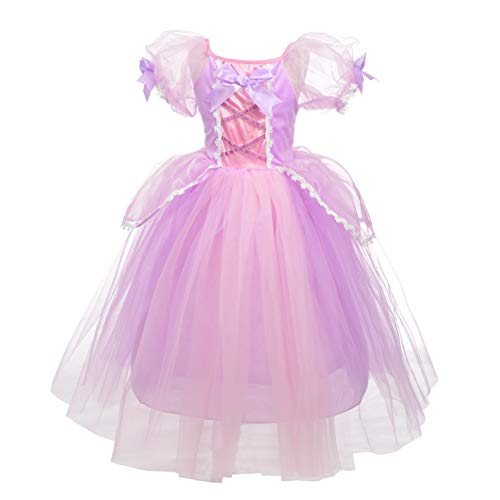 Dressy Daisy Princess Rapunzel Dress Up Costumes Halloween Party Fancy Dresses Size 12 -