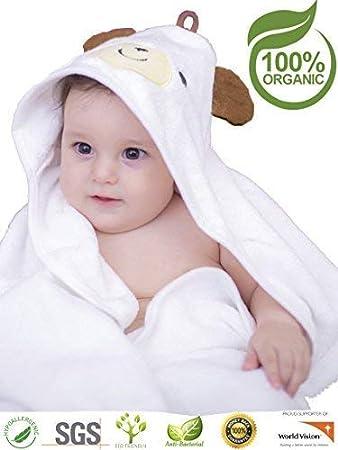 d5beae0fc45a Amazon.com   Premium Hooded Baby Towel