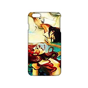 Angl 3D Case Cover Pince And Little Mermaid Phone Case for iPhone6