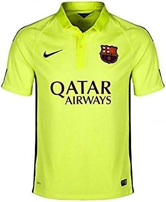 amazon com nike 2014 2015 barcelona mens third jersey xxl clothing nike barcelona jersey men s