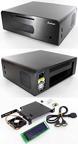 tendraw h128 C HTPC Caja mini-ITX (250 W, 2 x USB3.0, 20 x 2 USB LCD): Amazon.es: Informática