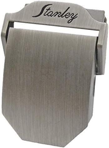 1 Metal Belt Buckle 1 BUCKLE You Choose Style and Finish Polished Nickel Plate Military Style with TIPS