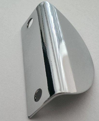 Türgriff Spiegelschrank BA 32mm Spiegelschrankgriff verchromt Möbelgriff *515