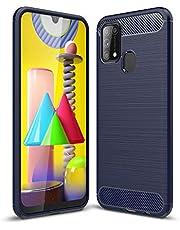 cover case for samsung M31 soft (Blue)