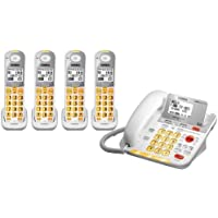 Uniden D3098 Corded - Cordless 1.9GHz DECT 6.0 Combo Telephone + 3 DCX309 Cordless Handset (Amplified)
