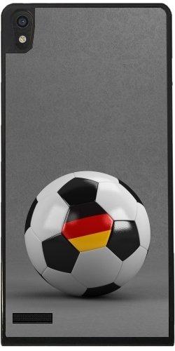 Funda para Huawei Ascend P6 - Alemán Balón De Fútbol by Carsten ...