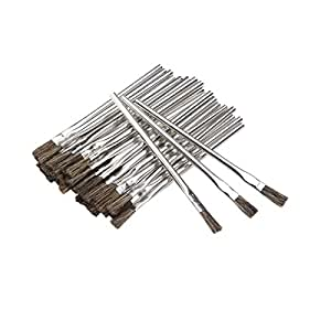 Harbor Freight Tools Horsehair Bristle Acid Shop Brushes, 1/2-inch, 36 Pieces