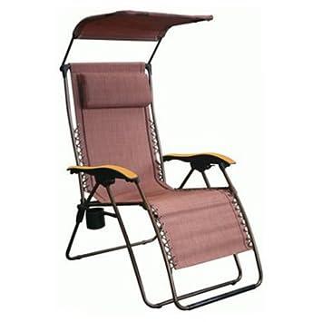 NEW Westfield Outdoor FC630 68014XL 300lb Steel Zero Gravity Chair W Canopy