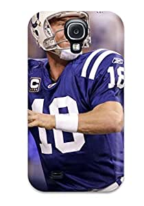 Flexible Tpu Back Case Cover For Galaxy S4 - Peyton Manning