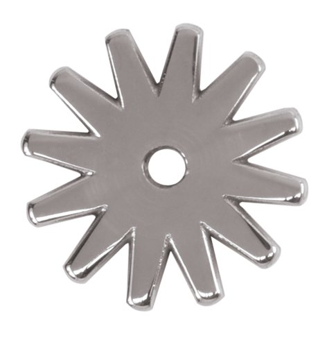 Weaver Leather Stainless Steel 12 Point Replacement Rowel, 1 1/2-Inch
