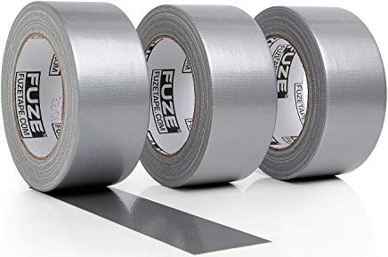 New: Heavy Duty Silver Duct Tape - 3 Roll Multi Pack Industrial Lot – 30 Yards x 2 inch Wide – Large Bulk Value Pack of Grey Original Extra Strength, No Residue, All Weather, Tear by Hand -