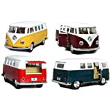Kinsmart 1:32 Scale 1962 Volkswagen Classical Bus, Color May Vary