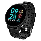 Smart Watch,COULAX Fitness Tracker with 1.3'' Large Color Screen IP67 Waterproof,Sleep Monitoring,Steps Counter,Calorie