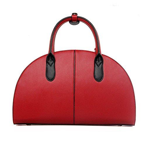 PU Sac la Rouge Bandouliere de a Sac Blanc a Honeymall main Femme Style chinois Cuir ZxpzCcwq