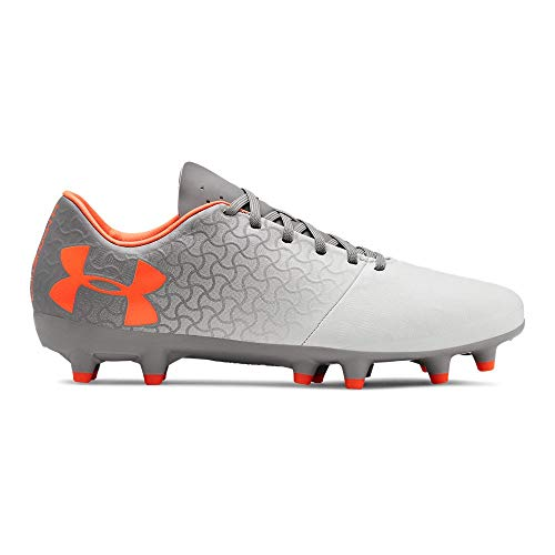 - Under Armour Women's Magnetico Select FG Soccer Shoe, Tetra Gray (600)/Onyx White, 8 M US