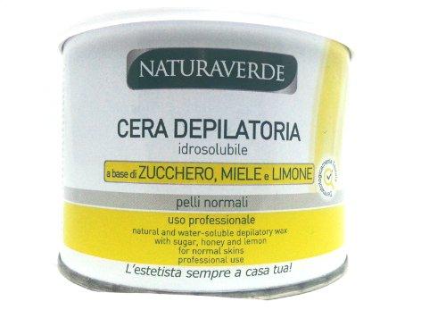 Sugaring Waxing Zuckerwachs Warmwachs wasserlöslich Honig Zitrone 400 ml Dose zur Haarentfernung