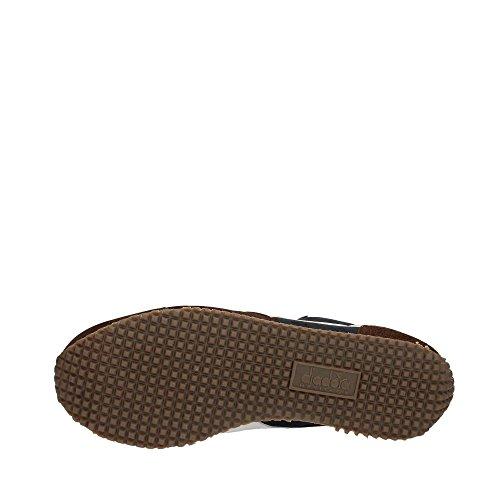 Suede Evo Blu Sneakers II Corsair Heritage Marrone Uomo Pelle Equipe Marrone Diadora YqwfHtFxP