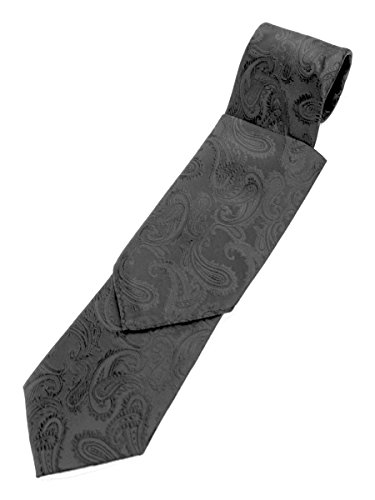Paisley Neck Tie and Pocket Hankie set - (Tie Pocket Hankie Set)