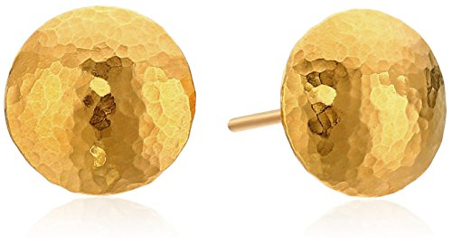 """GURHAN """"Lentil"""" 24k Gold Stud"""