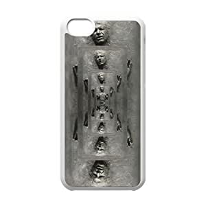 Unique Design Cases Ipod Touch 6 Cell Phone Case White Star Wars Han Solo Frozen in Carbonite Feedu Printed Cover Protector