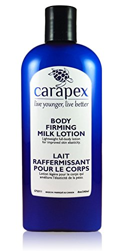 Carapex Body Firming Milk Lotion, Non Greasy, Anti-aging, Tightening, Hydrating , Natural for Dry and Sensitive Skin, Unscented, 8oz - Body Firming Extra Lotion