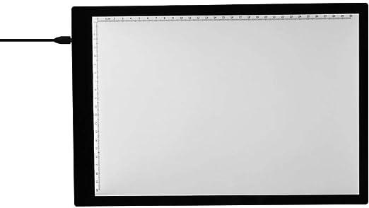 Mesas De Luz Para Calcar Trazador De Caja De Luz Led A4 Con Escala Tablero De