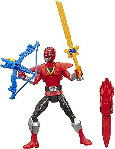 Power Rangers Beast Morphers Beast-X Red Ranger 15-cm Action Figure Toy inspired by the Power Rangers TV Programme