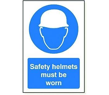 1 x cascos de seguridad debe llevarse 240 mm x 360 mm (9 1/