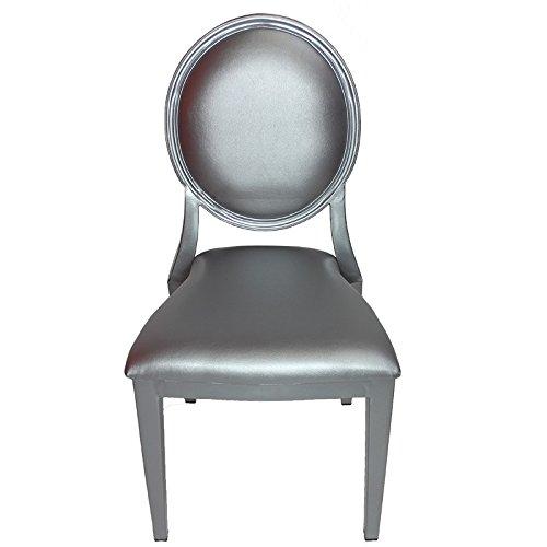 Entrada EN111824 Louis Chair with Steel Frame, 18