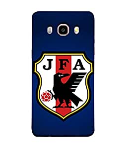 ColorKing Football Japan 06 Blue shell case cover for Samsung J5 2016