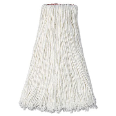 (Rubbermaid Commercial RCP F417 WHI Premium Cut-End Rayon Mop Head, 20 oz., 1