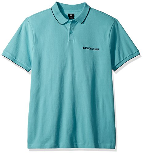 DC Men's Lakebay Polo, Marine Blue, L ()