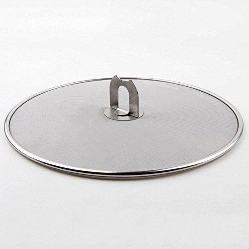 "UPC 600740133633, Levohome Stainless Steel Cover Protection Splatter Screen 11.4"" Diameter, M"