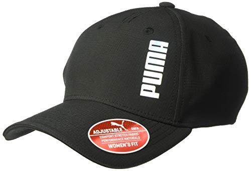 - PUMA Women's Evercat Dash Adjustable Cap, Black, One Size
