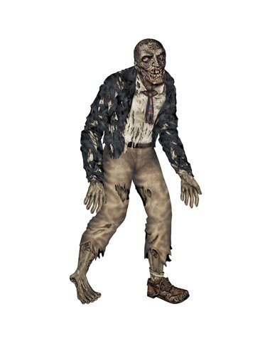 The Beistle Company Jointed Zombie Cut Out Paper Decoration Multicoloured One Size