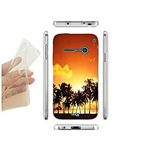 FUNDA CARCASA SLIM TRAMONTO HAWAII PARA VODAFONE SMART 4 MINI TPU