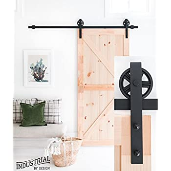 Amazon 6 Foot 7 Inch Heavy Duty Sliding Barn Door Hardware Kit