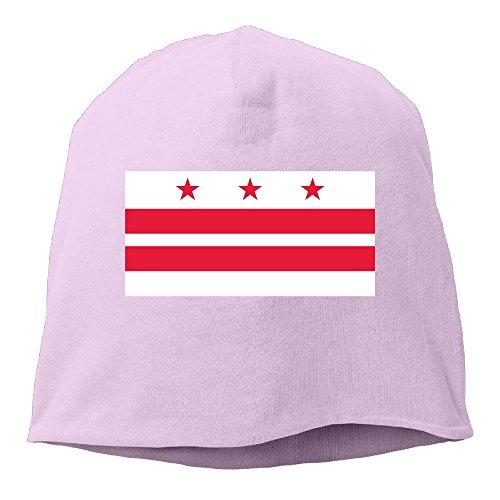 WellShopping Washington DC Flag Element Design Plain Skullies Beanie Dance toboggan Hat Unisex Cap