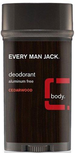Every Man Jack Deodorant Cedar Wood, 3 oz – men's grooming Review