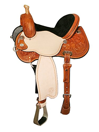 1545 Circle Y Lisa Lockhart Dynamo Flex2 Barrel Saddle 2404-5
