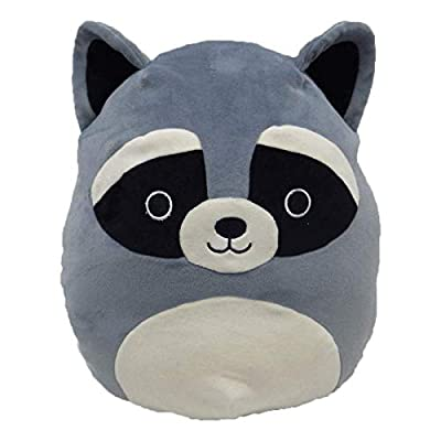 "Squishmallow 16"" Grey Raccoon: Toys & Games"