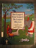 Two Legged, Four-Legged, No-Legged Rhymes, J. Patrick Lewis, 0679907718