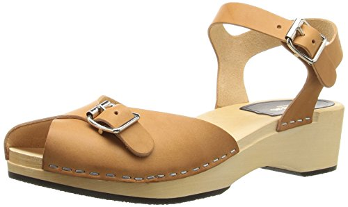 Heeled hasbeens Debutant Pia Sandal swedish Nature Women's 81xAw4Iqz